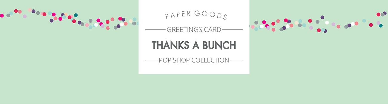 Pop shop - Thanks a bunch page