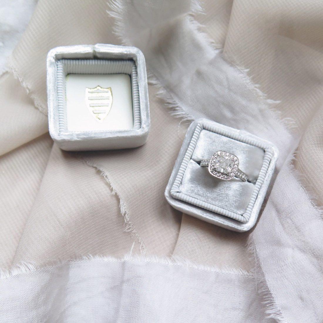 Cushion-cut-engagment-ring-detail