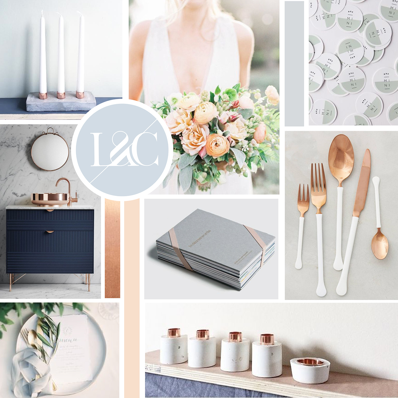 Bridal Diaries My Wedding Moodboard Paperknots