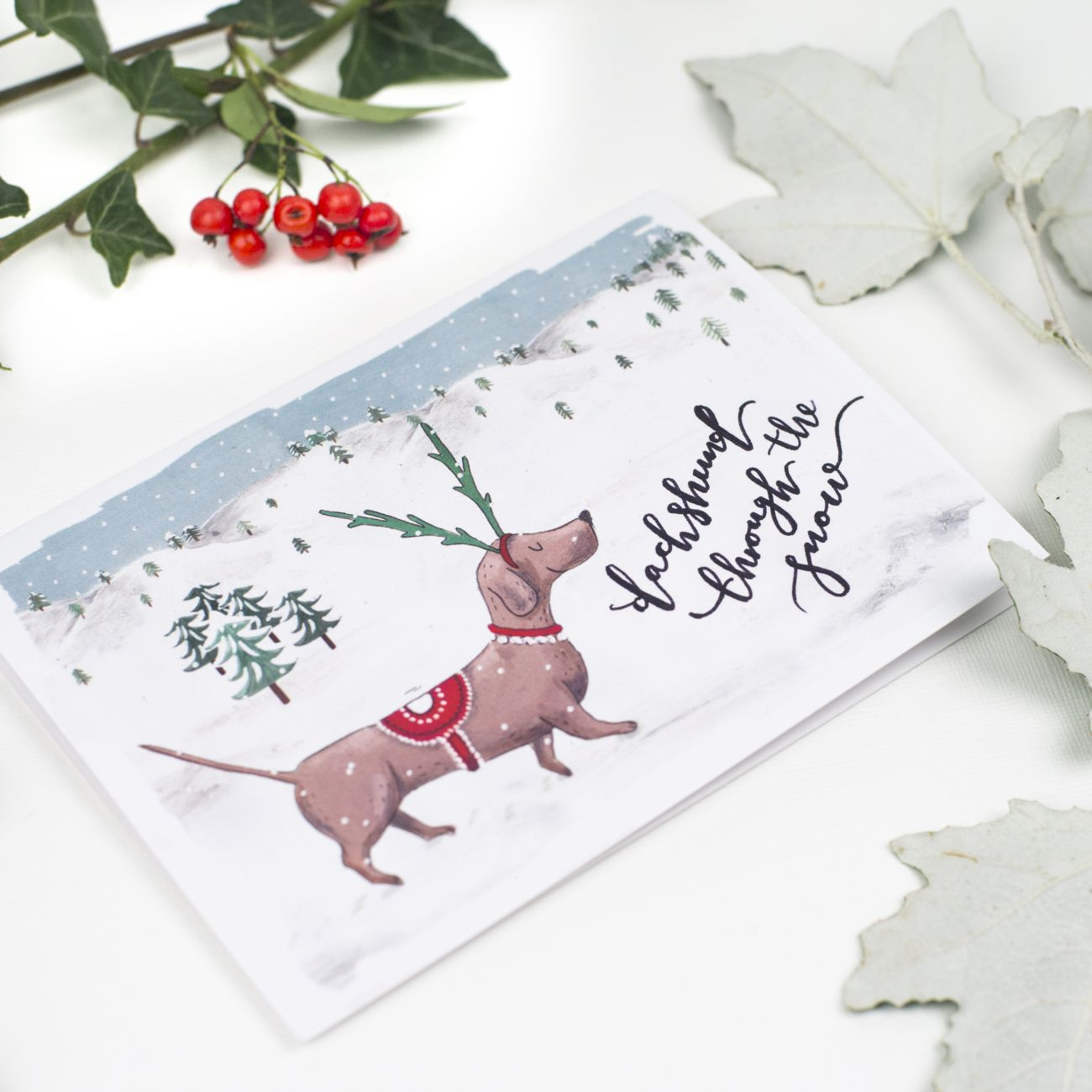 Winter Waggies Christmas Card Pack | Paperknots